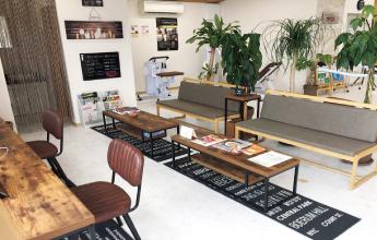ライゼスポーツのカフェスペースは自由にご利用いただけます。