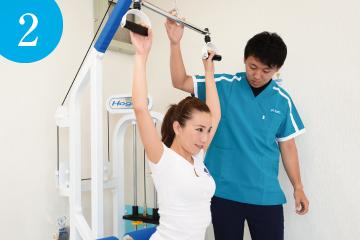 2.ストレッチマシン体験 | ライゼスポーツ 初回体験の流れ