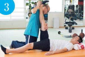 3. マンツーマンストレッチ体験 | ライゼスポーツ 初回体験の流れ