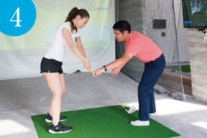 4. ゴルフレッスン体験 | ライゼスポーツ 初回体験の流れ